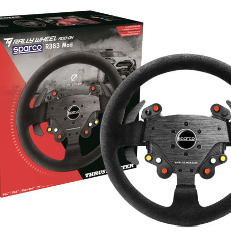 Thrustmaster Rally Wheel Add-On Sparco® R383 Mod - PS4PS3Xbox OnePc